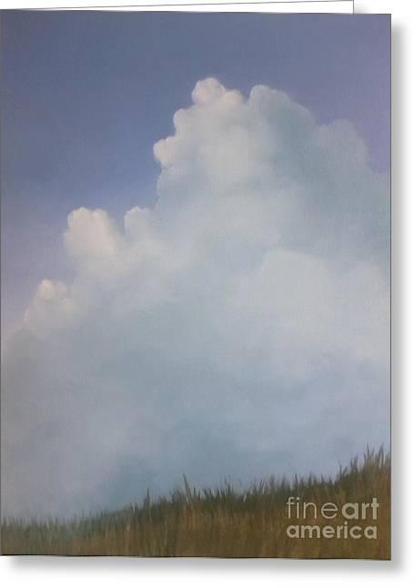 Blues Creek Greeting Card by Cynthia Vaught
