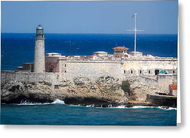 Blues Of Cuba Greeting Card by Karen Wiles