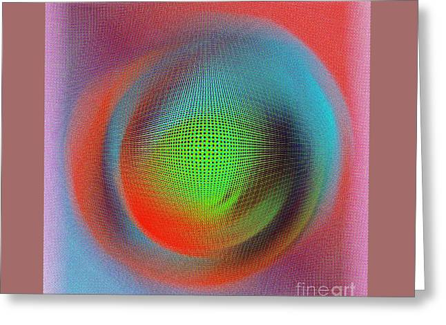 Blur Greeting Card by Iris Gelbart
