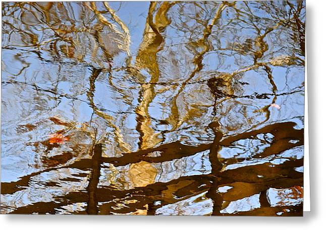 Blurred Reality Greeting Card by Frozen in Time Fine Art Photography