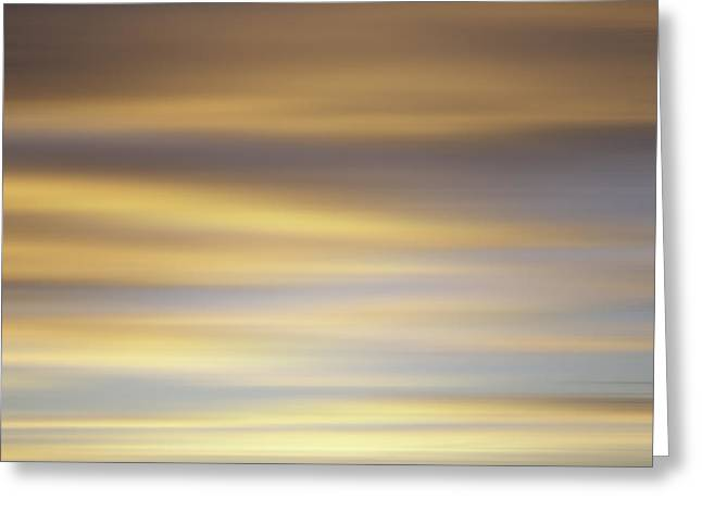 Blurred Sky 1 Greeting Card by John  Bartosik