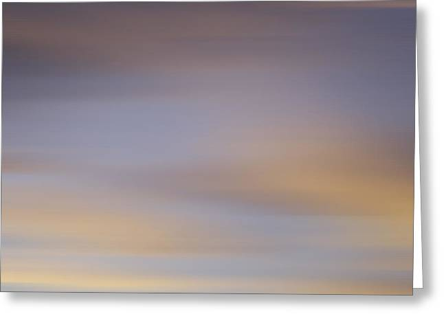 Blurred Sky 2 Greeting Card by John  Bartosik