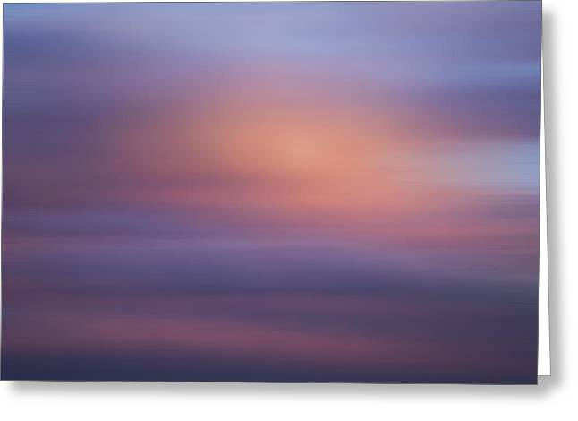 Blurred Sky 4 Greeting Card by John  Bartosik