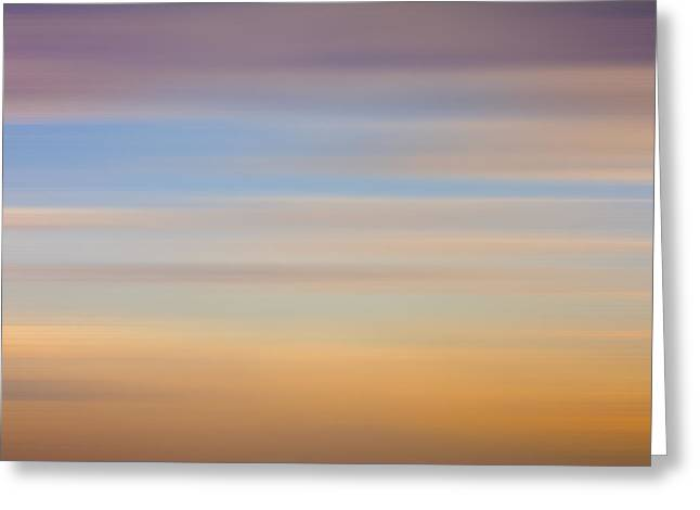 Blurred Sky 8 Greeting Card by John  Bartosik