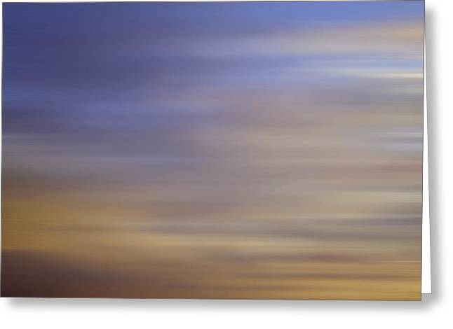 Blurred Sky3 Greeting Card by John  Bartosik