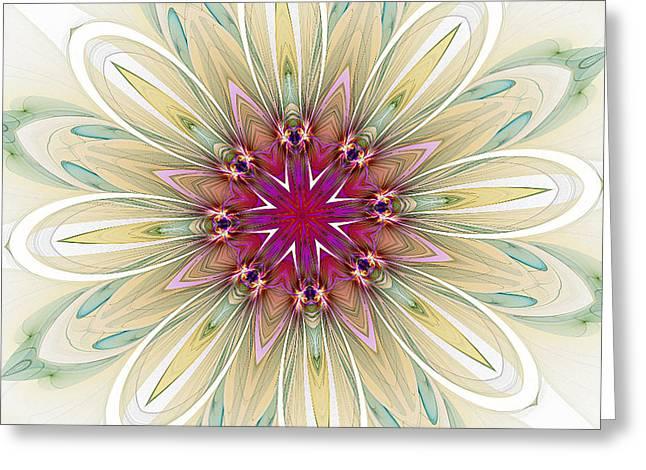 Blushing Colors Greeting Card