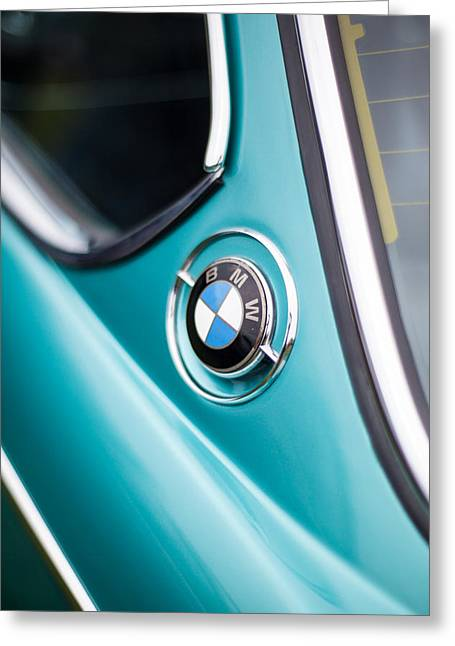 Bmw 3.0 Cs Closeup Curves Greeting Card by Mike Reid