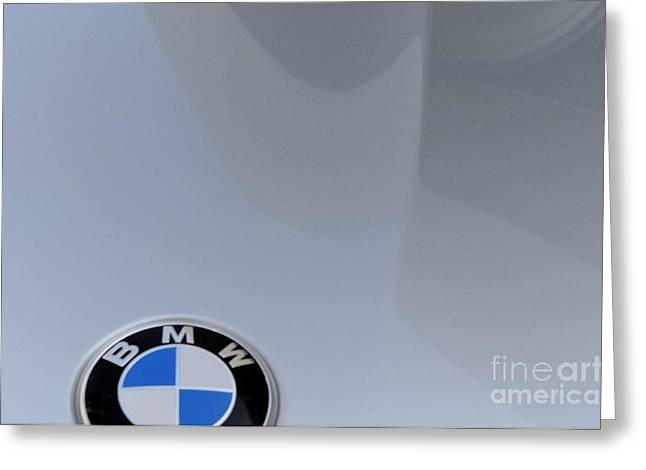 BMW Greeting Card by Andres LaBrada