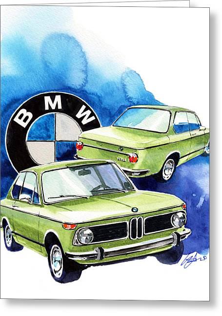 Bmw 1600-2 Greeting Card