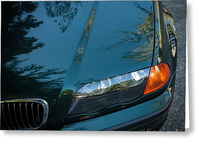 Bmw Fender Greeting Card