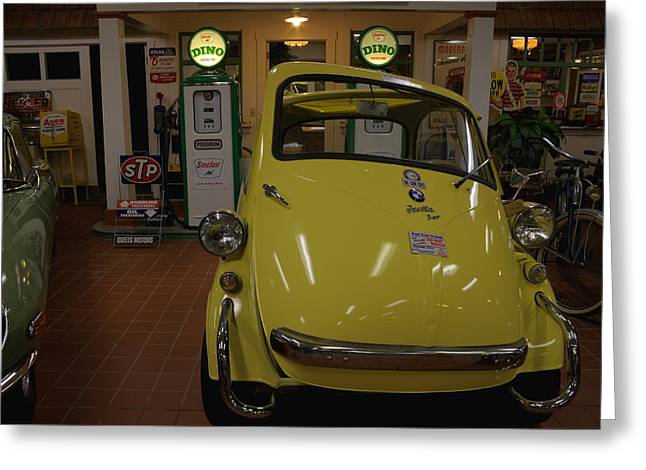 Bmw Isetta Greeting Card