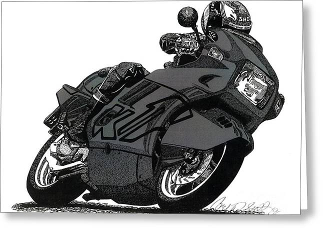 Bmw K1 Greeting Card