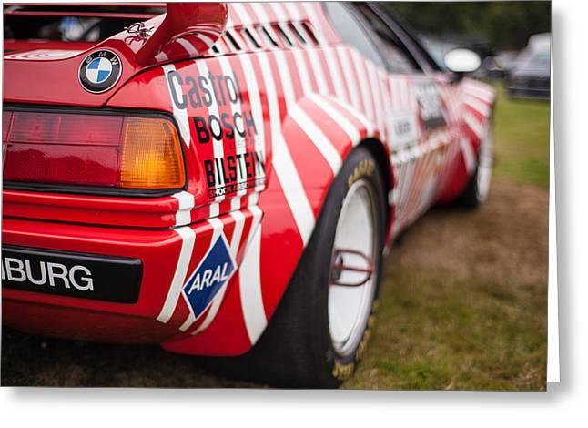 Bmw M1 Racecar Greeting Card by Mike Reid