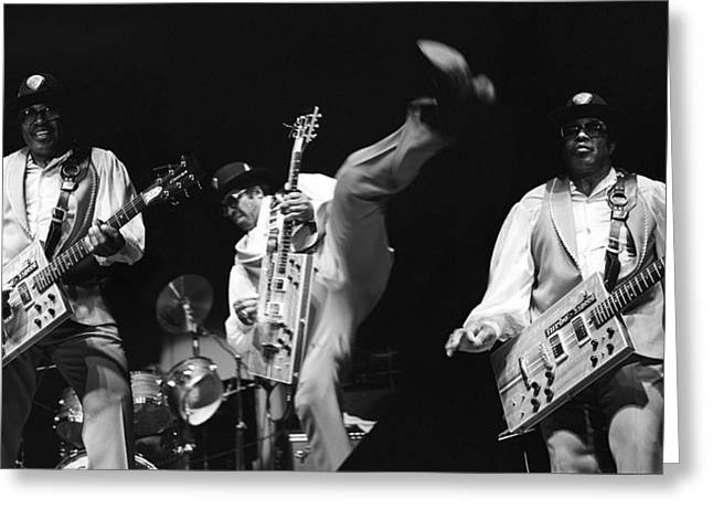 Bo Diddley 3 Greeting Card