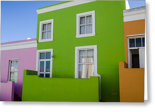 Bo Kaap Colour Greeting Card