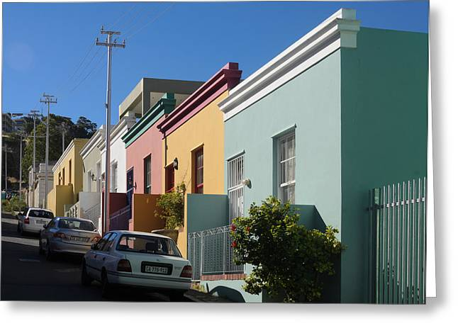 Bo Kaap Houses Greeting Card