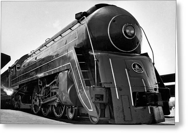 B&o Locomotive, cincinnatian Greeting Card by Underwood Archives