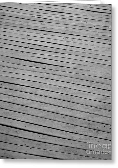 Greeting Card featuring the photograph Boardwalk by Kristen Fox