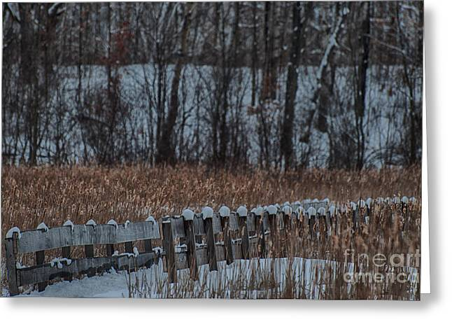 Greeting Card featuring the photograph Boardwalk Series No2 by Bianca Nadeau