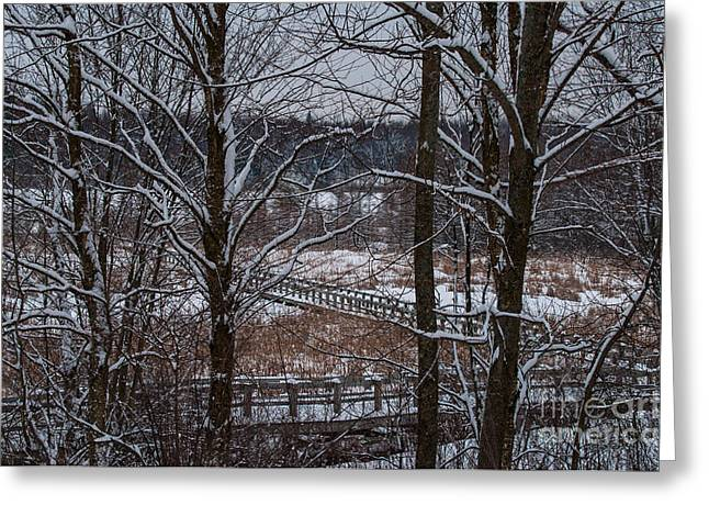 Greeting Card featuring the photograph Boardwalk Series No3 by Bianca Nadeau