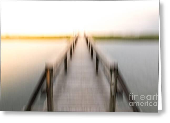 Boardwalk Greeting Card by Susan Cole Kelly Impressions