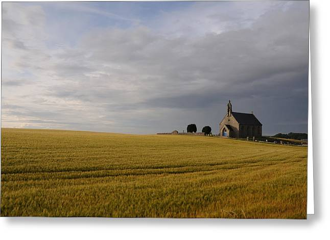 Boarhills Church Greeting Card by Jeremy Voisey