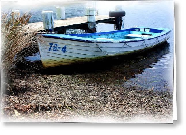 Boat 78-4 Greeting Card by Ian  Ramsay