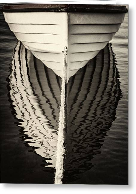 Boat Mirrored Greeting Card