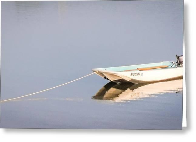 Boat Mooring Greeting Card