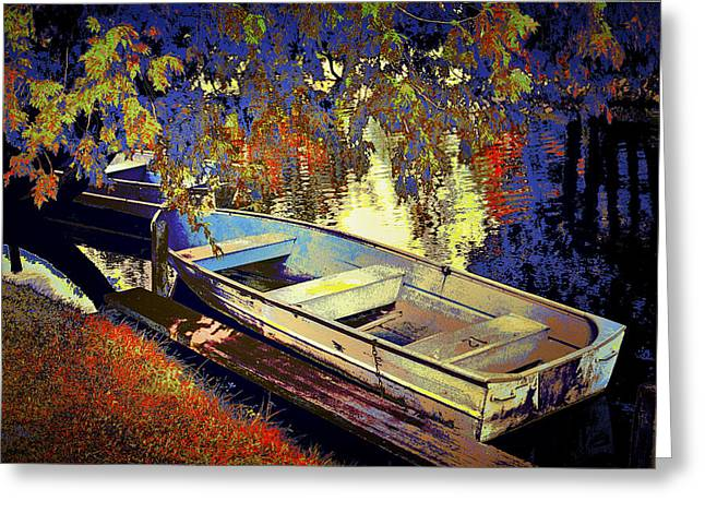 Boat Number 12 Greeting Card