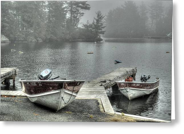 Boat Rental Greeting Card