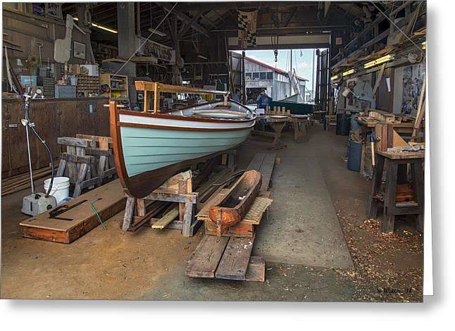 Boat Shop Greeting Card