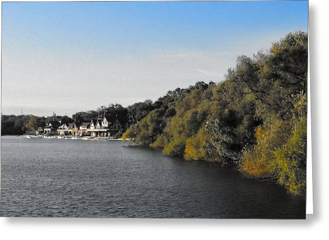 Greeting Card featuring the photograph Boathouse II by Photographic Arts And Design Studio