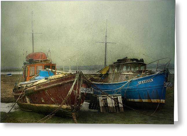 Boats For Sale Greeting Card
