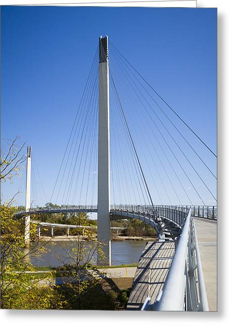 Bob Kerrey Pedestrian Bridge Greeting Card
