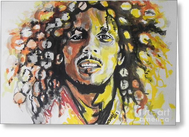 Bob Marley 02 Greeting Card
