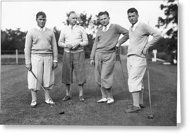 Bobby Jones And Friends Greeting Card