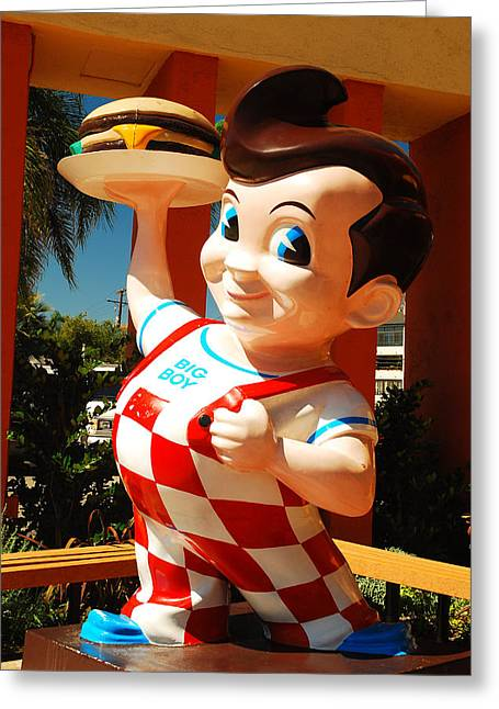 Bob's Big Boy Greeting Card