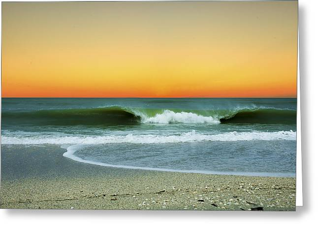 Boca Sunset Greeting Card