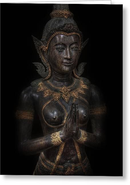 Bodhisattva Princess Greeting Card
