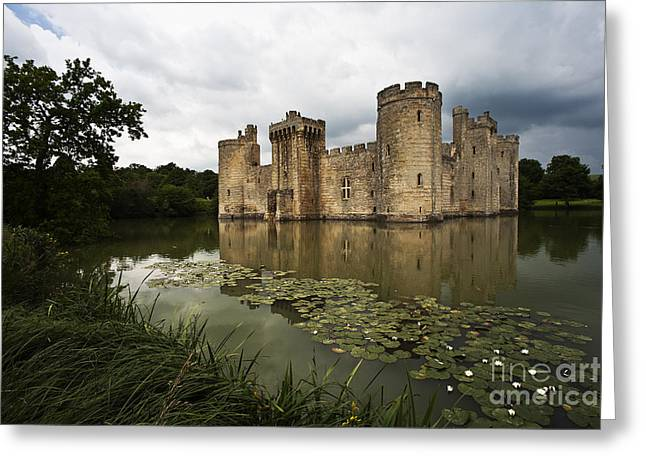 Bodiam Castle Greeting Card by Heiko Koehrer-Wagner