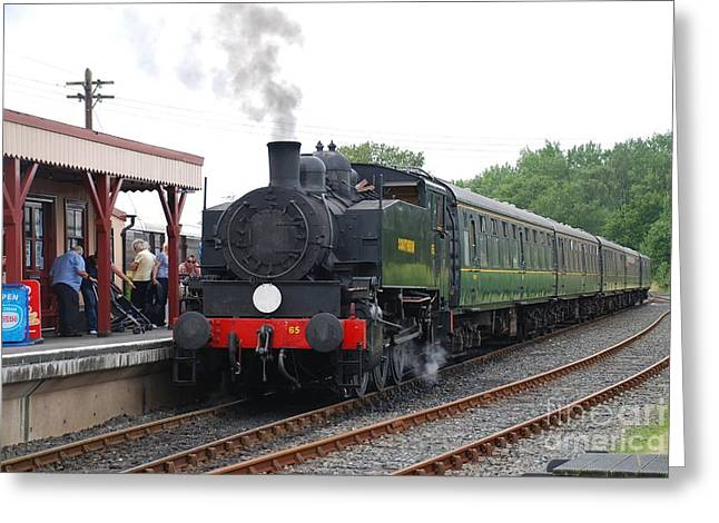Bodiam Station Greeting Card