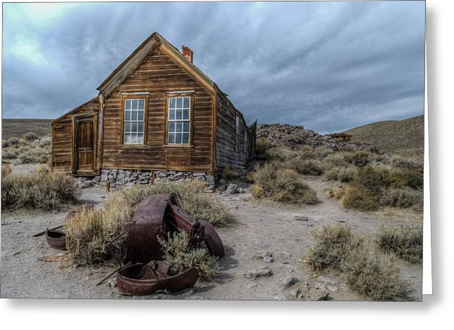 Bodie Fixer Greeting Card by Mike Ronnebeck