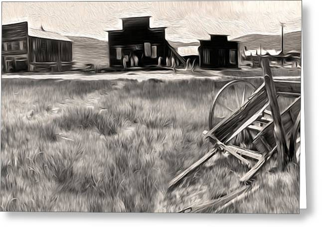 Bodie Ghost Town - 03 Greeting Card by Gregory Dyer