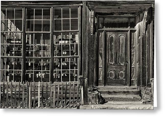 Bodie Ghost Town Greeting Card by Robert Fawcett