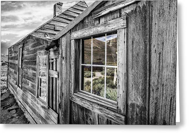 Bodie Gold Mining Ghost Town Greeting Card