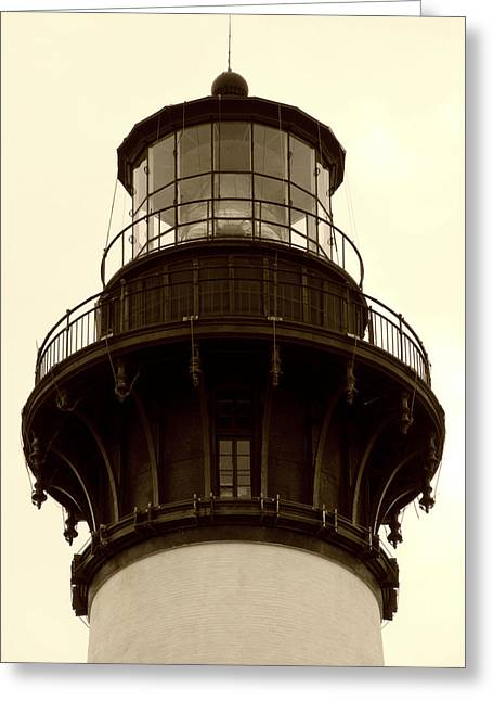 Greeting Card featuring the photograph Bodie Island Light Iv by Kelly Nowak