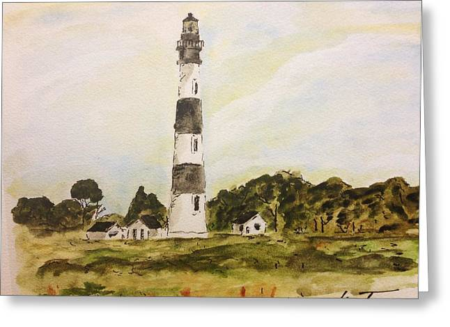 Bodie Island Light Greeting Card