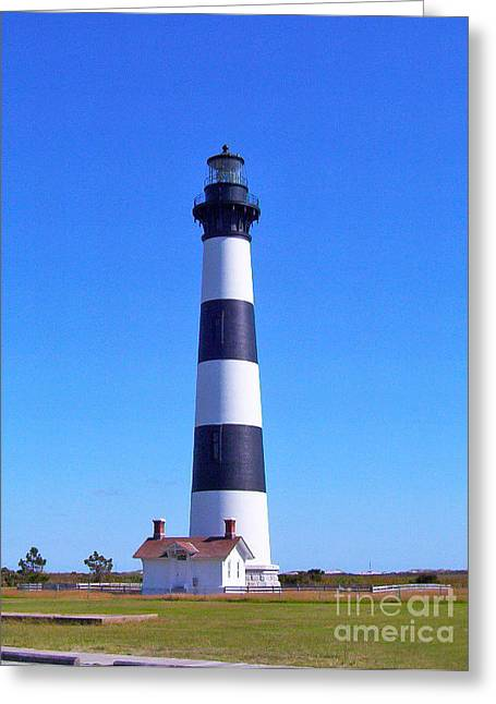 Bodie Island Lighthouse Greeting Card by Stuart Mcdaniel