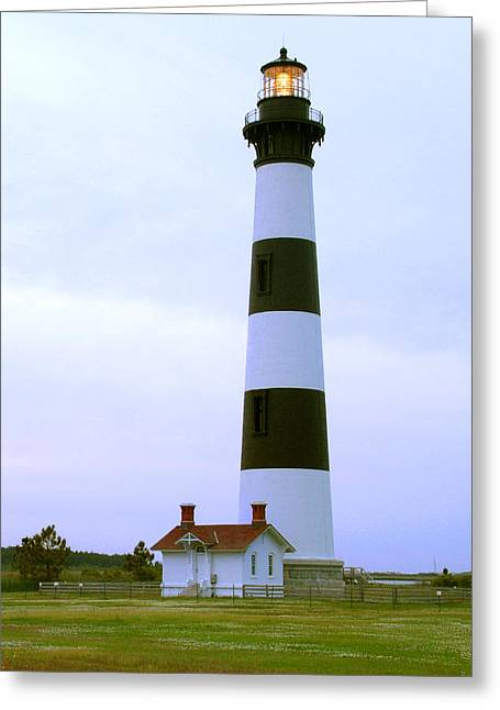 Bodie Light 4 Greeting Card by Mike McGlothlen